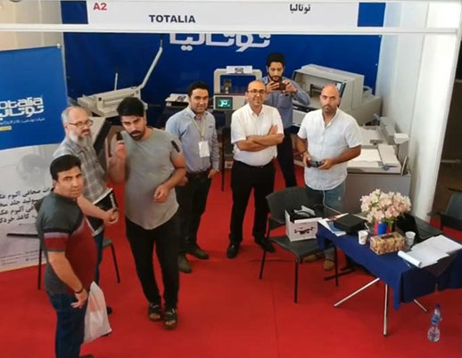 Totalia Company's attendance in the 17th int'l specialized exhibition of digital cameras, photography & imaging