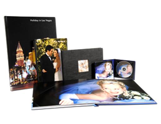 Photo album binding for Single Side Photos