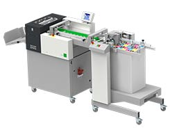 Multigraf TOUCHLINE CP375 DUO with Pile Feeder Mistral PFM Creasing and Perforating Machine