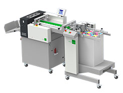 Multigraf TOUCHLINE CP375 MONO with Pile Feeder Mistral PFM Creasing and Perforating Machine