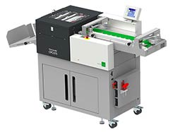 Multigraf Multifinisher TOUCHLINE CPC375 with Pile Feeder Mistral PFM Cutting, Perforating and Creasing Machine