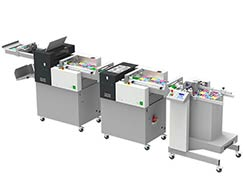 Multigraf TOUCHLINE CP375 DUO AND TCF375 Creasing and Perforating and Folding Machine