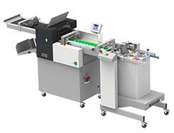 Multigraf TOUCHLINE CF375 With Pile Feeder Mistral PFM Creasing and Folding Machine