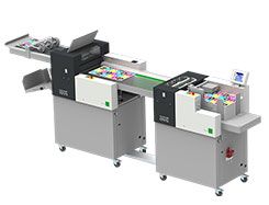 Multigraf TOUCHLINE CP375 DUO AND TF375 Creasing and Perforating and Folding Machine